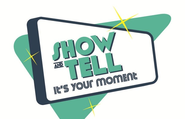 show and tell Logo Finale